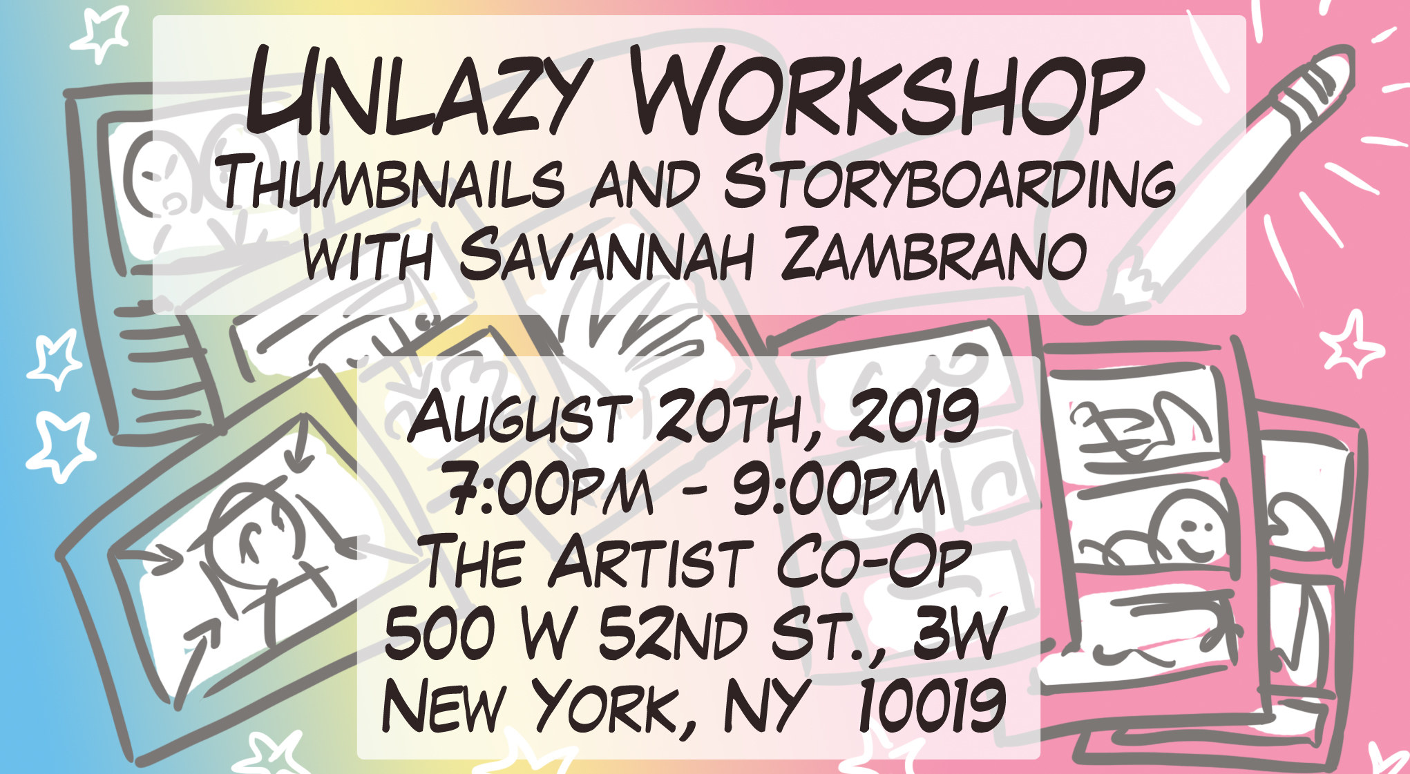 08/06/2019 – Unlazy Workshop 3