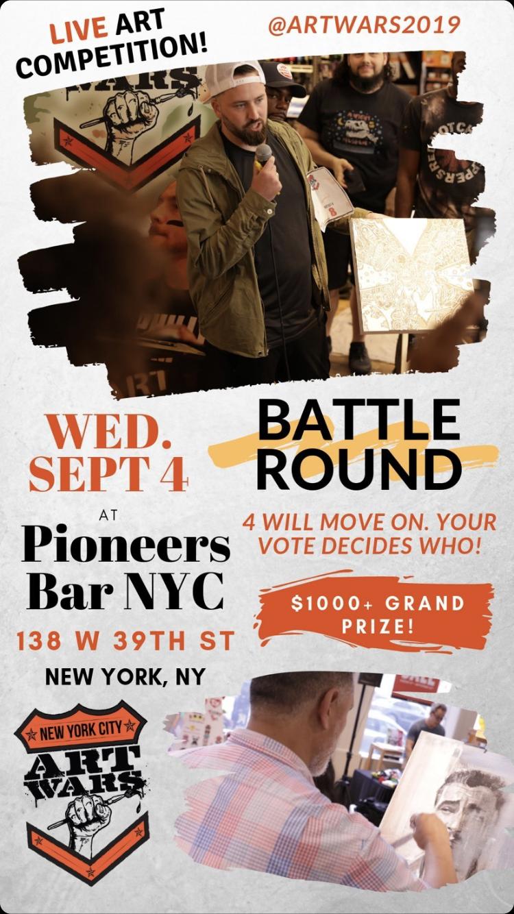 08/30/2019 Art Wars 2019 NYC Round 1