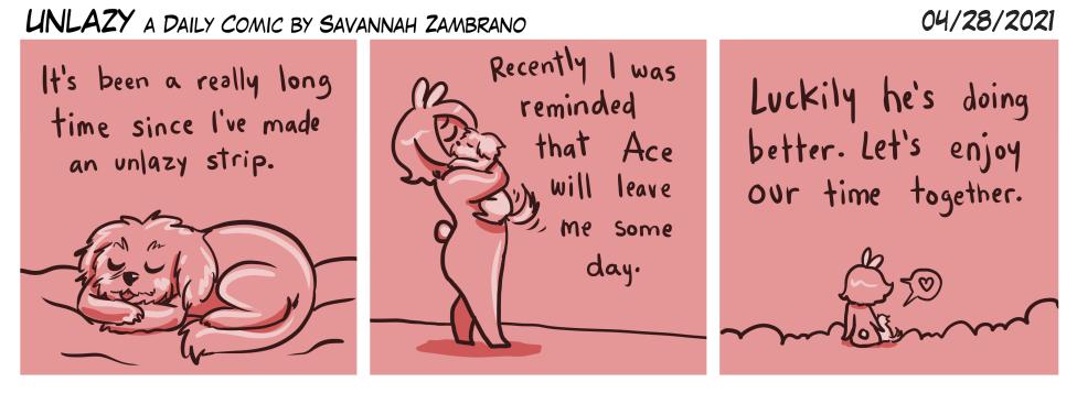 04/28/2021 My darling Ace